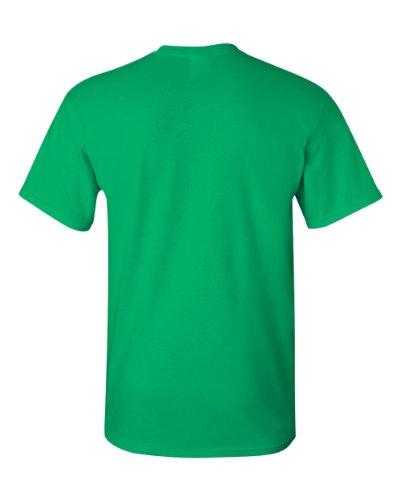 Pour Irlandais Gildan Courtes À Vert T Manches Homme shirt XwqUxB68R