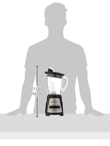 Hamilton Beach (58148A)Blender with Glass Jar, For Shakes & Smoothies, Multi function, Electric (58148A) by Hamilton Beach (Image #6)