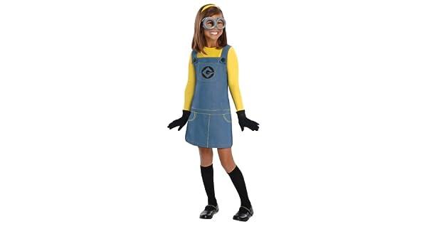 Generique - Disfraz Minions niña: Amazon.es: Juguetes y juegos