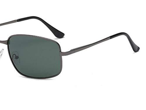 protección de Gafas de Gafas sol Eyewear Green sol Polarized Driving Classic Dark Mujeres Retro FlowerKui UV400 Hombres de vPRf66