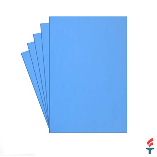 3MM Embroidery Foam (Sky Blue)- 5 Pack- 10