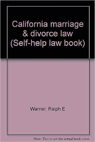 california self help and divorce