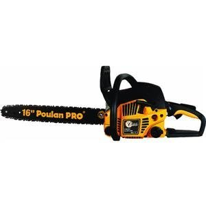 """POULAN Pro Classic 16"""" Gas Chain Saw PP3816AV Carry Case ..."""