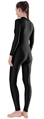 Speerise Adult Lycra Spandex Long Sleeve Turtleneck Unitard Bodysuit