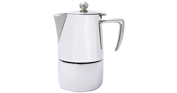Amazon.com: Cuisinox Milano Espresso cafetera, Plateado ...