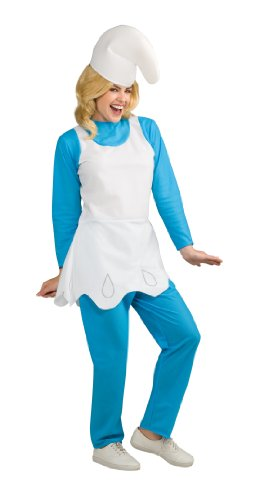 Rubie's Costume The Smurfs 2 Adult Smurfette, Blue/White, Standard (Smurfette Costume For Adults)