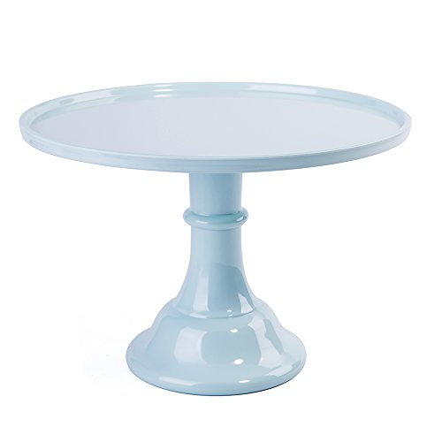 11In Round Cake Stand Melamine Dessert Cupcake Display Stand (Mint Green) - Melamine Display Tray