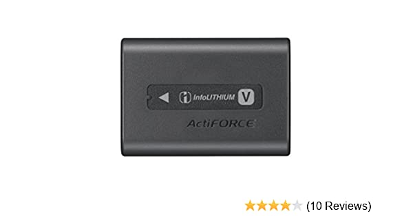 3b228a12a Sony NP-FV70A V-Series Rechargeable Digital Camera Battery Pack, Black