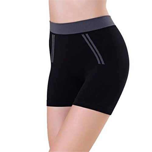 HANYI Women Sports Shorts Gym Yoga Shorts (Free Size, (Baby Doll Layer Tank Top)