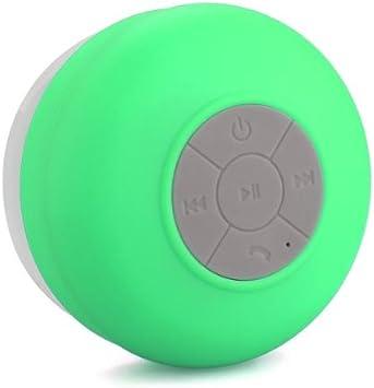 Altavoz bluetooth ducha Inalámbrico Impermeable con Ventosa Manos libres baño Piscina Coche Cocina con microfono Impermeable