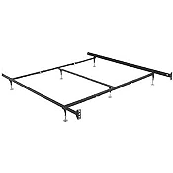 this item hospitality bed frame warped floor series queen king california king standard duty with 6 adjustable glides - Standard Queen Bed Frame