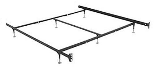 amazoncom hospitality bed frame warped floor series queen king california king standard duty with 6 adjustable glides kitchen dining