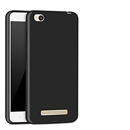 hot sale online 594b1 49850 LOFAD CASE Flip Cover for Redmi 5A - Gold - Premium Cover with Inner Pocket  (Metallic Black)