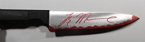 Signed Halloween Tyler Mane Autographed Butcher Knife (Tyler Mane Halloween)