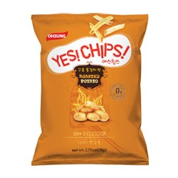 amazon com oh sung yes chips roasted potato 2 75 oz 78g bag of 4