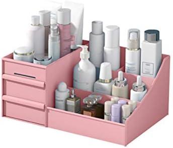 Caja organizadora de maquillaje, de plástico, con cajones ...