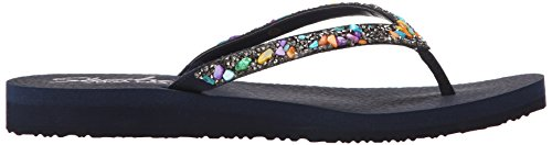 Skechers Meditation Break Water - Sandalias Mujer Azul - Bleu (Marine)