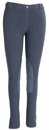 TuffRider Ladies Starter LowRise Pull-On Knee Patch Breeches