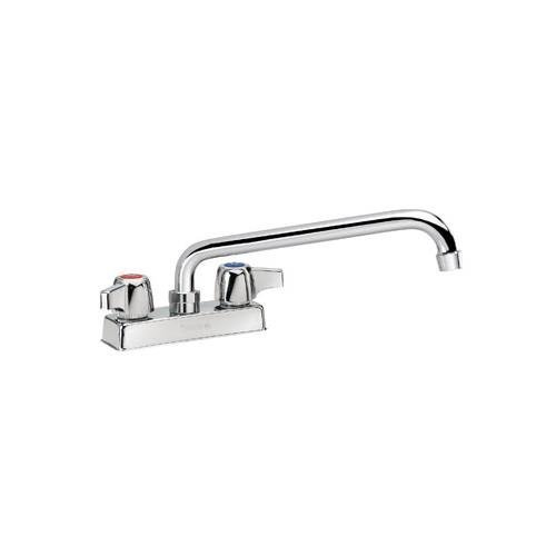 (Krowne 11-412L Low Lead Faucet, Deck-Mounted, 4 Centers, 12 Swing Nozzle, NSF by Krowne)