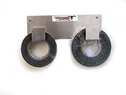 Pit Posse 546 Double Duct Tape Holder Aluminum Enclosed Race Trailer Shop Garage Storage Organizer