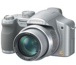 Megapixels 7 Lumix Cameras Panasonic - Panasonic Lumix DMC-FZ8S 7.2MP Digital Camera with 12x Optical Image Stabilized Zoom (Silver)