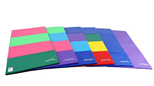 Tumbl Trak Tumbling Panel Mat, Bright Pastel, 4 ft x 8 ft x