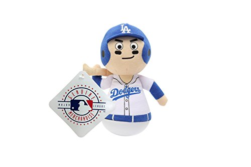 - MLB Rock'emz Collectible Sports Figurine - 7 in. Tall (Los Angeles Dodgers)