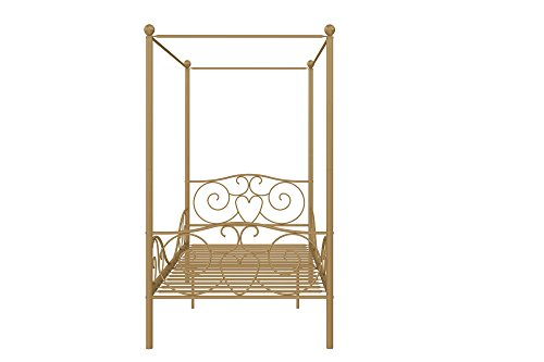 DHP Canopy Metal Bed- Twin 4