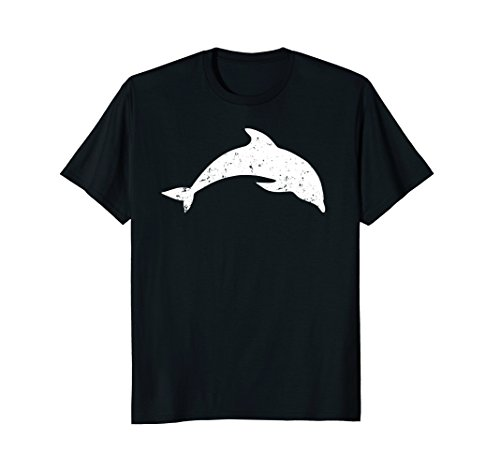 (Distressed Dolphin T-Shirt Gift Costume)