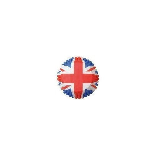 Pack of 54 UNION JACK Cupcake Cases (Fairy Cake)