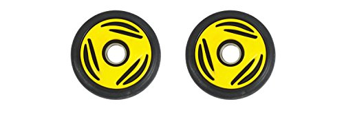 Ski Doo Idler Wheel (PDD Front Rail Yellow Idler Wheels Kit for Snowmobile BOMBARDIER/SKI-DOO Summit (all) 1996-1998)