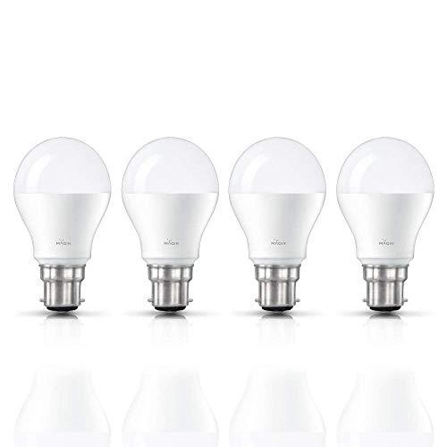 Magik 9 Watts B22 LED White Bulb, Pack of 2