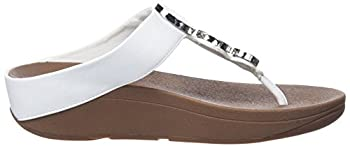 Fitflop Women's Halo Toe Thong Sandals Urban White 8 5