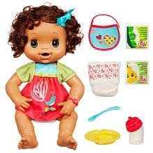 Amazon Com Baby Alive My Baby Alive Brunette Toys Amp Games