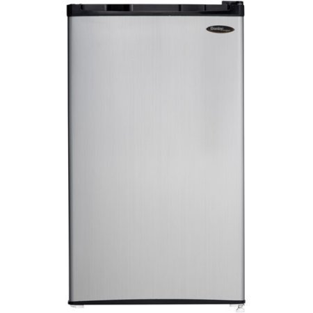 Danby Designer 3.2 cu ft Compact Refrigerator, Spotless /color: Silver/ Model:DCR032C1BSLDD by Supernon by Supernon