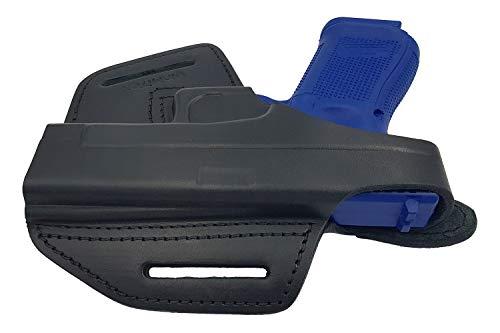 VlaMiTex Holster en Cuir pour Glock 17 19 22 23 25 26 27 31 32 33 34 37 3