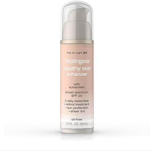 Neutrogena Healthy Skin Enhancer, Fair to Light 20, 1 Ounce