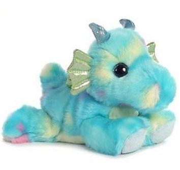 [All Seven @ New Arrival Baby Blue Dragon Plush Stuffed Animal Toy 7
