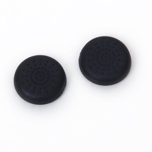 SODIAL Protection For Manette knob Cap Controller for PS4 Playstation 4 Black