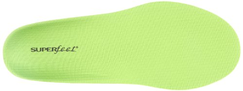 Superfeet, Semelles Orthopédiques Mixte Adulte, Vert (Wide Green), 49 EU