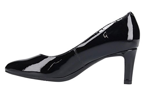 Clarks Calla Rose - Black Patent Leather Black