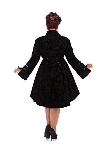 tatou un militaire au corset de brocarde avec motif du manteau Femmes flocage dos en gwBXqXxC