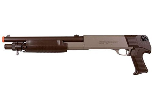 U.S. Marines Airsoft Pump Shotgun, Tan/Brown