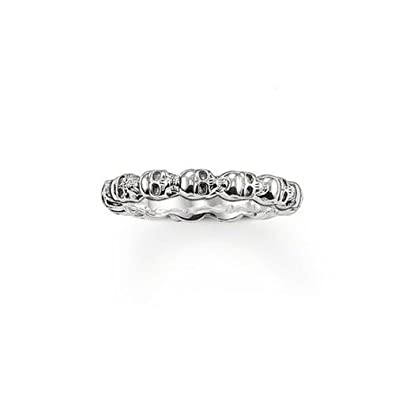 3a7ffc25fbab Thomas Sabo Unisex Ring TR1922-001-12 Ring 925 Sterling Silver ...