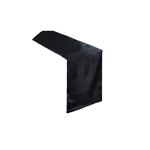 Tablecloths Satin Table Wedding Party Event Banquet Home Table Decoration Table Cover Tablecloth,Black
