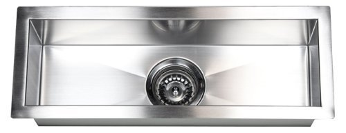 23'' x 8.5'' Single Narrow Bowl Undermount Kitchen Sink by eModern Decor by eModern Decor