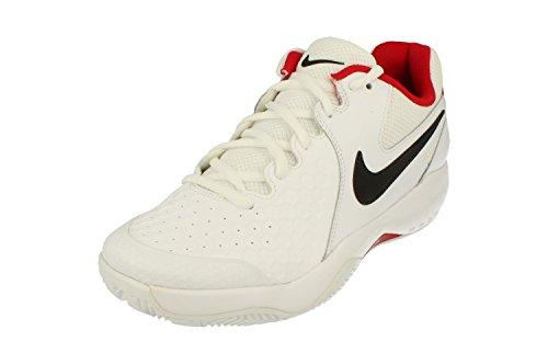 Nike NIKE AIR ZOOM RESISTANCE CLY - Zapatillas deportivas, Hombre, Blanco - (White/Black-University Red)