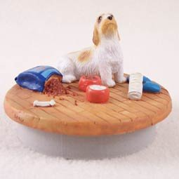 Conversation Concepts Miniature Petit Basset Griffon Vendeen Candle Topper Tiny One ''A Day at Home'' by Conversation Concepts