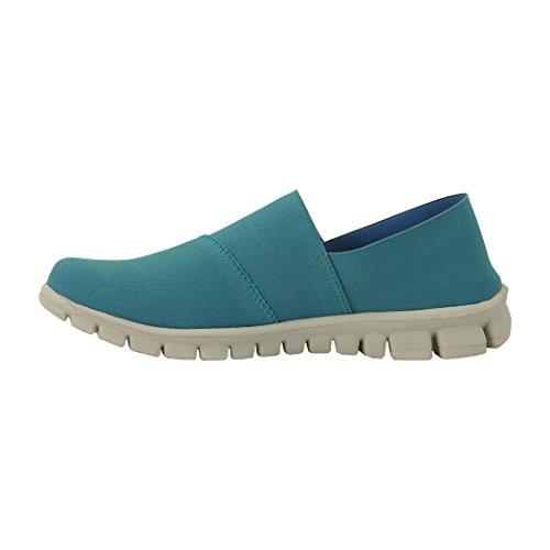 Nosox Donna Stretch Flat Blu / Verde