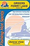 Greers Ferry Lake Fishing Map (Arkansas Fishing Map Series, A121)